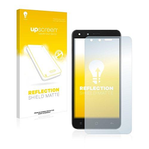 upscreen Entspiegelungs-Schutzfolie kompatibel mit Medion Life X5001 (MD 98499) – Anti-Reflex Bildschirmschutz-Folie Matt