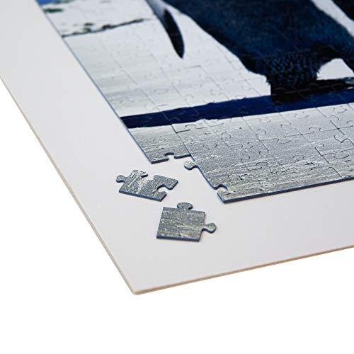 Fixmount Puzzle Karton zum Aufkleben von Puzzles - 40x50cm - selbstklebend - mit Aufhänger - Stärke: 2,5mm