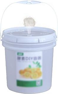 MNSSRN Godet enzymatique en Plastique de qualité Alimentaire, Seau d'eau avec Couvercle 10L / 20L Seau de Fermentation sce...