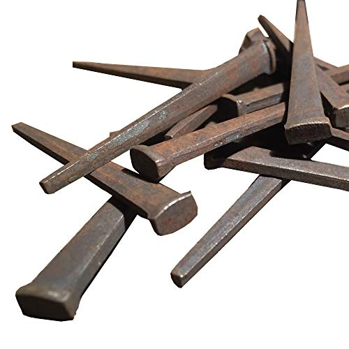 1 lb - 2' CUT FLOORING NAILS - Antique Historic Reproduction Nails - 1 LB