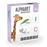 EUREKAKIDS Alphabet Puzzle Montessori Educativo