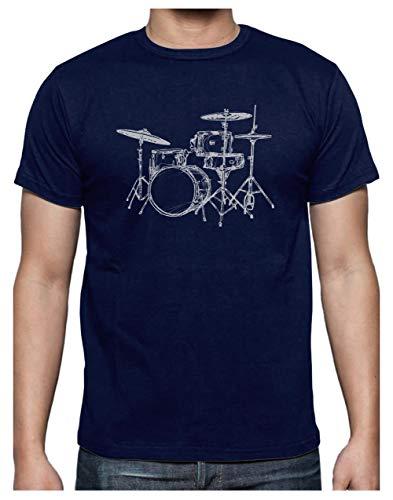 Tee Shirt Batterie Musique - t Shirt Musique Drums...
