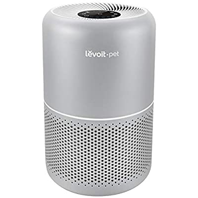 LEVOIT Air Purifiers for Home Allergies and Pets Hair, H13 True HEPA Filter for Bedroom, 24db Filtration System with ARC Formula, Remove 99.97% Odors Smoke Dust Mold Pollen, Core P350, Gray