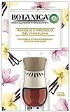 Airwick Botanica Diffusore di Oli Essenziali Elettrico - 1 Confezione con un Profumatore per Ambienti e una Ricarica fragranza Vaniglia e Magnolia dell'Himalaya, fragranza naturale
