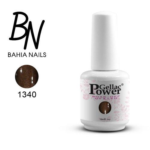 Bahia Nails - Power Gellac Tenue Parfaite? Vernis à Ongles UV Ou LED Semi Permanent 15 ml. 1340