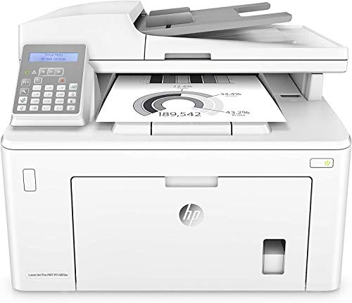 HP LaserJet Pro MFP M148fdw - Impresora láser multifunción, monocromo, Wi-Fi, Ethernet (4PA42A)