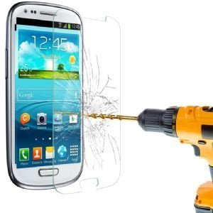 itronik® 9H Hartglas / Panzerglas für Samsung Galaxy S3 Mini i8910 / Displayschutzglas / Tempered / Panzer Glas Display Schutz Folie / Schutzglas / Echte Glas / Verbundenglas / Glasfolie