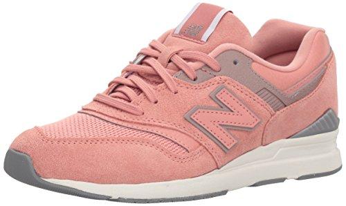 New Balance Damen WL697-CM-B Sneaker, Pink (Altrosa/Grau Altrosa/Grau), 36 EU