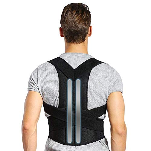 DOACT Corrector Postura Espalda, Faja Lumbar Mujer Hombre, Respaldo Lumbar Faja Espalda, Upright Espalda Para Corregir Postura Espalda, Correctores Enderezar Espalda Apoyo Lumbar Alivio Dolor (M)