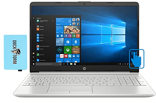 Hp 15t-dw300 home & business laptop (intel i7-1165g7 4-core, 16gb ram, 512gb pcie ssd, intel iris xe, 15. 6' touch hd (1366x768), fingerprint, wifi, bluetooth, webcam, win 10 pro) with hub