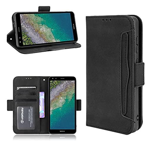 Hülle Capirotazo Billetera Funda Compatible para Nokia C01 Plus(Patrón 2)