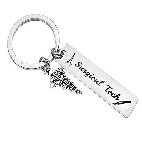 10 Surgical Tech Keychain