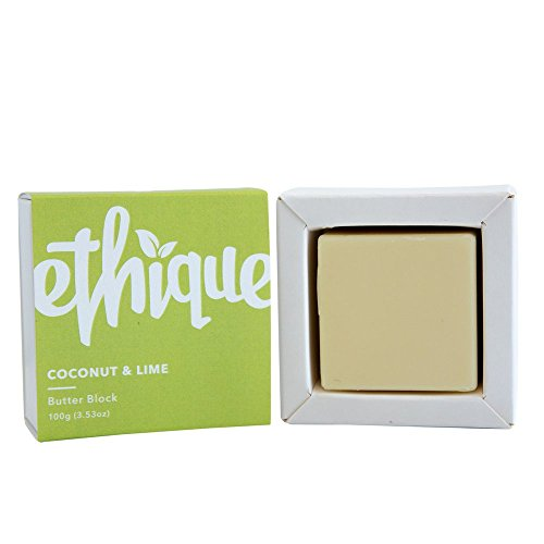 Ethique Eco-Friendly Butter Block, Coconut & Lime 3.53 oz