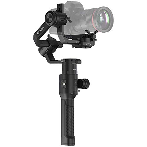 DJI Ronin-S Handheld 3-Axis Gimbal Stabilizer All-in-One Control for DSLR + Mirrorless Cameras (Renewed)