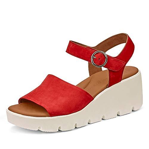 Paul Green dames sandaal 7366, vrouwen wigsandalen