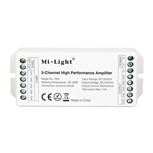 LIGHTEU®, Mi.Light PA5 Amplificador alto rendimiento