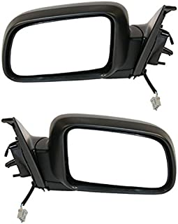for 2002-2006 Honda CR-V Power Folding Black HO1320215 Non-Heated Roane Concepts Replacement Left Driver Side Door Mirror