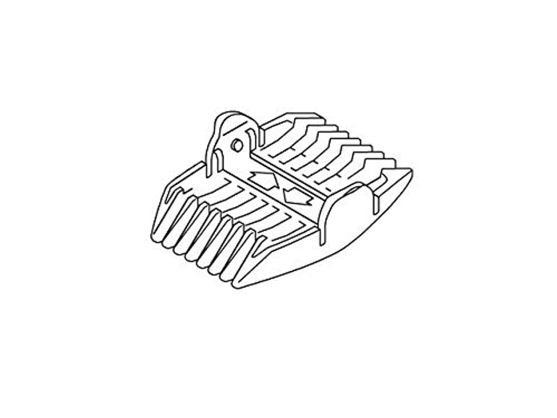 絶望関連付ける受賞Panasonic 刈り高さアタッチメント(9/12mm) ERGF80W7407