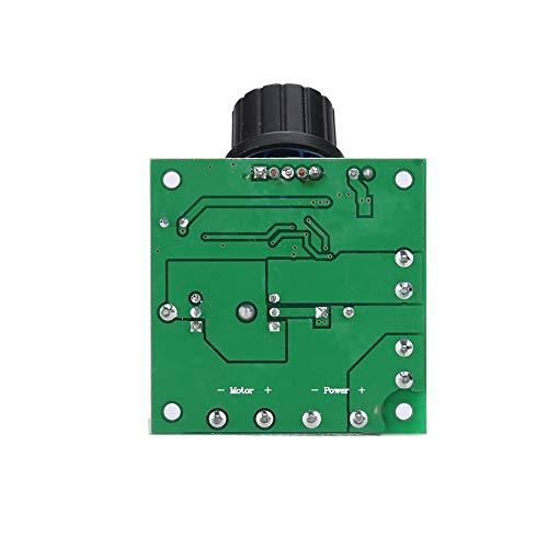Controlador de velocidad variable Stepless 9V-50V 10A Controlador de velocidad del motor del gobernador del motor para el motor de la cinta de correr para el ventilador de enfriamiento para