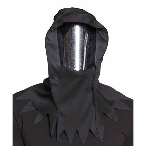 Maschera Spettro Horror specchio con cappuccio