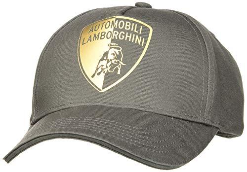 Automobili Lamborghini Herren CAPPELLINO HALVED Shield Baseballkappe, 823, One Size