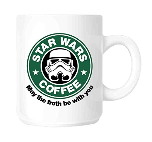 Kaffee und Tee Tasse Kaffee-Haferl STAR WARS, Tasse Star Wars-Parodie Aus Keramik by DURSHANI