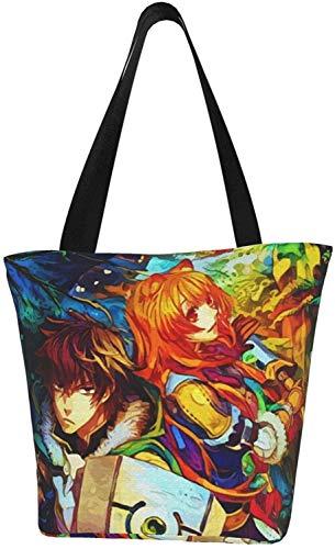 Jojo'S Diavolo King Carmesí Bolsa reutilizable para la compra bolsas de hombro para regalo de la escuela de compras, color, talla Talla única