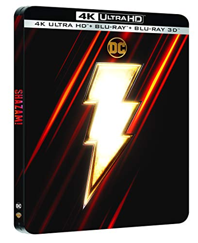 Shazam! [4K Ultra HD + Blu-ray + Digital - Édition boîtier SteelBook]