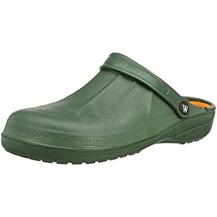 Coolers Wetlands Men's Garden Beach Yard Mule EVA Clog Shoe Sizes 7-12 (10 UK, Green)