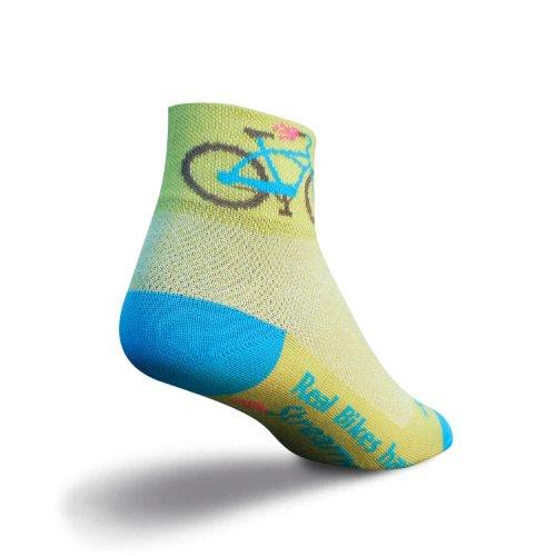 Socken SOCK GUY STREAMERS Damen Grün Größe S/M
