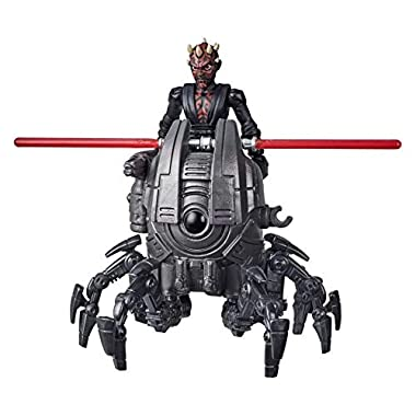 Star Wars Mission Fleet Gear Class Darth Maul Sith Probe Pursuit 2.5-Inch-Scale Figure and Vehicle, Toys for Kids Ages 4…