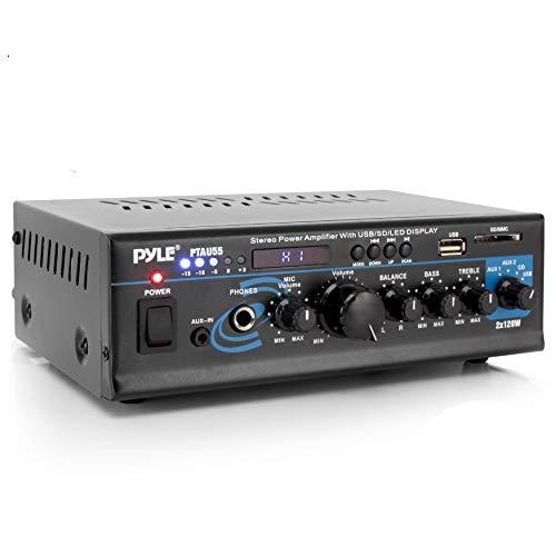 Pyle PTAU55 - HiFi-Verstärker (RCA)