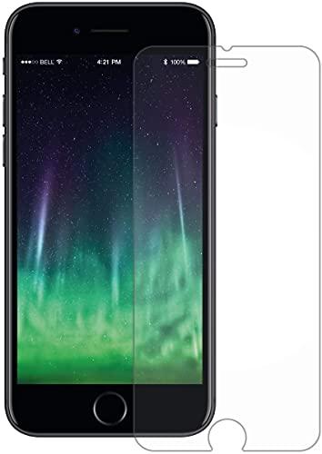 YC COMPANY - Lot de 3, Verre Trempé Compatible avec iPhone 7/8/SE 2020. Film Protection Écran Anti Rayures Ultra Résistant (0,33mm HD Transparent) - Dureté 9H Glass (iPhone 7/8/SE 2020, Transparent)