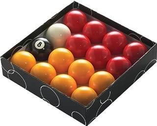 East Eagle Billiard/Pool Balls Regulation Size, Complete 16 Balls Set