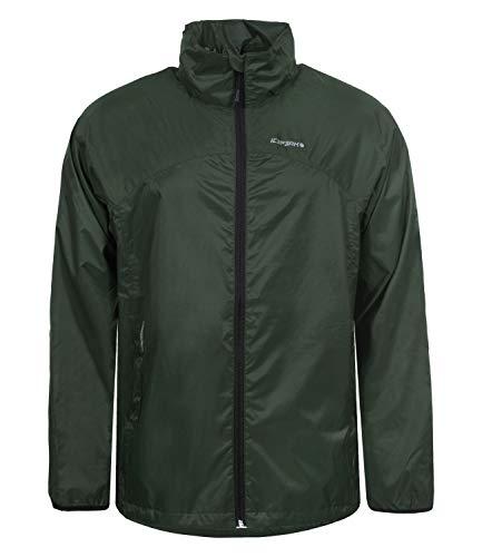 ICEPEAK Herren Regenjacke Kapuzenjacke Windjacke Rain Jacket Art 9-56 023 641, Farbe:Grün, Größe:2XL, Artikel:-585 Oliv