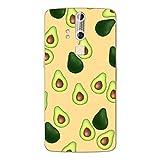 Disagu SF-106600_1123 Design Folie für ZTE Axon Elite - Motiv Avocados Muster orange