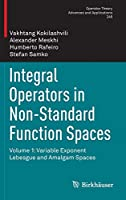Integral Operators in Non-Standard Function Spaces: Volume 1: Variable Exponent Lebesgue and Amalgam Spaces (Operator Theory: Advances and Applications, 248)