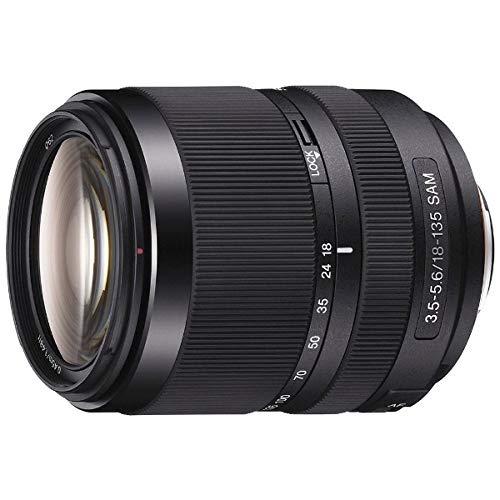 SONY DT 18-135mm F3.5-5.6 SA Sony A-mount lens SAL18135 - International Version (No Warranty)