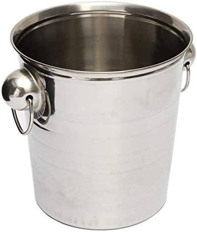 WJCCY Silver Stainless Steel supreme Ice Punch Bucket Beer Max 61% OFF Wine C Cooler