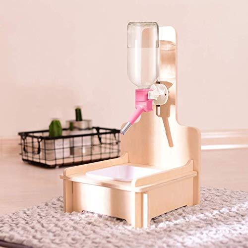 WSJTT Perro dispensador de agua, automático del animal doméstico Fuente del agua potable Dispensador for gatos Inicio automático de la bebida del dispensador del agua del gato del perro casero aliment