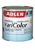 ADLER Varicolor 2in1 Smalto acrilico colorato per interno ed esterno - 125 ml RAL9001 Bianco crema - Smalto e fondo resistente alle intemperie per legno, metallo e plastica - Semilucido