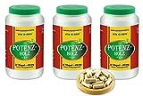 VITAIDEAL ® POTENZHOLZ (Muira puama, Ptychopetalum Olacoides) 3x360 Kapseln je 450mg, aus rein...