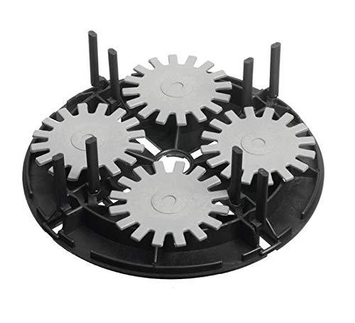 Stelzlager Vario Mini teilbar, 32 Stück, 55 mm Höhe, 4 x 55 mm