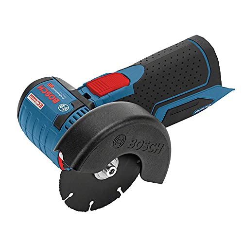 Bosch Professional 06019F2000 System GWS 12 V-76 Cordless Angle Grinder (Three Cutting, Disc Diameter: 76 mm, Excluding Rechargeable Batteries and Charger, in Cardboard Box), 1 W