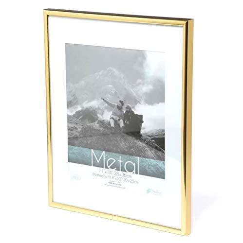 Metalen fotolijst Klassiek Minimalistisch bureaublad fotolijst 9x13 13x18 21x30cm Pleixglass Binnenzijde Certificaat Frame