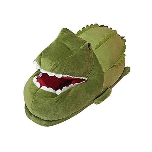 Sharplace Zapatillas de animales para niños y adultos, divertido disfraz acogedor cocodrilo...