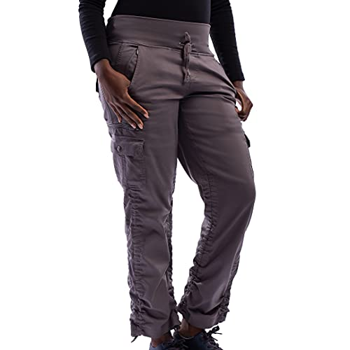 SCOTTeVEST Women's Margaux Cargaux Travel Cargo Pants | 11 Concealed Pockets Gray