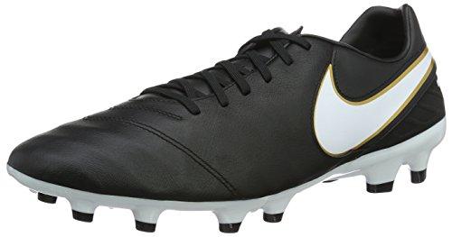 Nike Herren Tiempo Mystic V FG Fußballschuhe, Schwarz (Black/White), 39