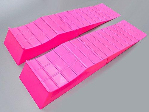 シャコタン ローダウン タイヤ スロープ 2個入り 軽量 ピンク