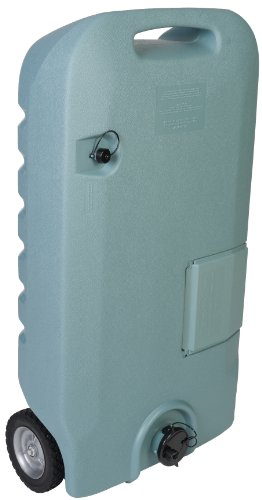 Tote-N-Stor 25609 Portable Waste Transport - 32 Gallon Capacity , Gray